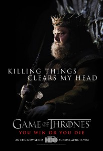 Gane of Thrones poster