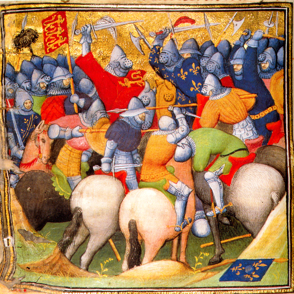 Crécy Jean Froissard, Hundred Years War