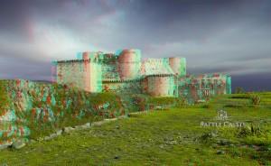 Crac des Chevaliers 3d Battle Castle