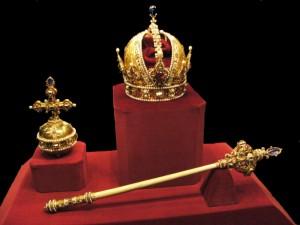 Austria Imperial crown jewels medieval