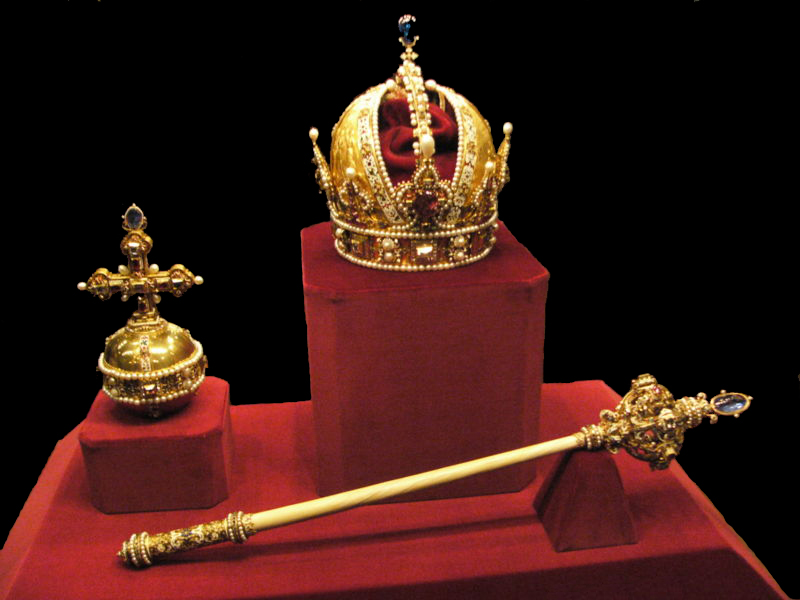 Austria Imperial crown jewels medieval