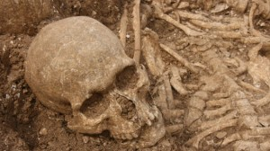 Viking Mass grave medieval Dorset