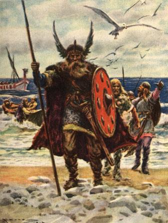 Vikings landing | Medieval Archives