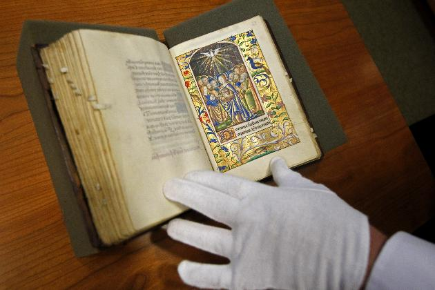 Medieval prayer book