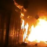 Historic Medieval Market Torched ALEPPO