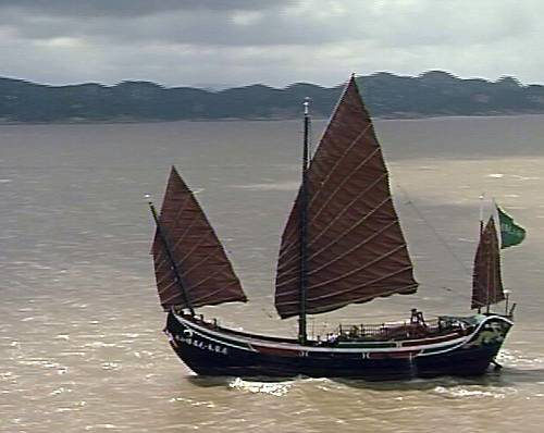 chinese junk medieval ship