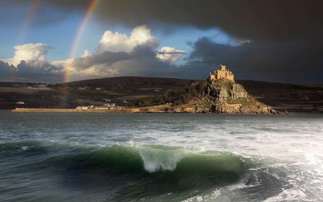 Castle-Rainbow