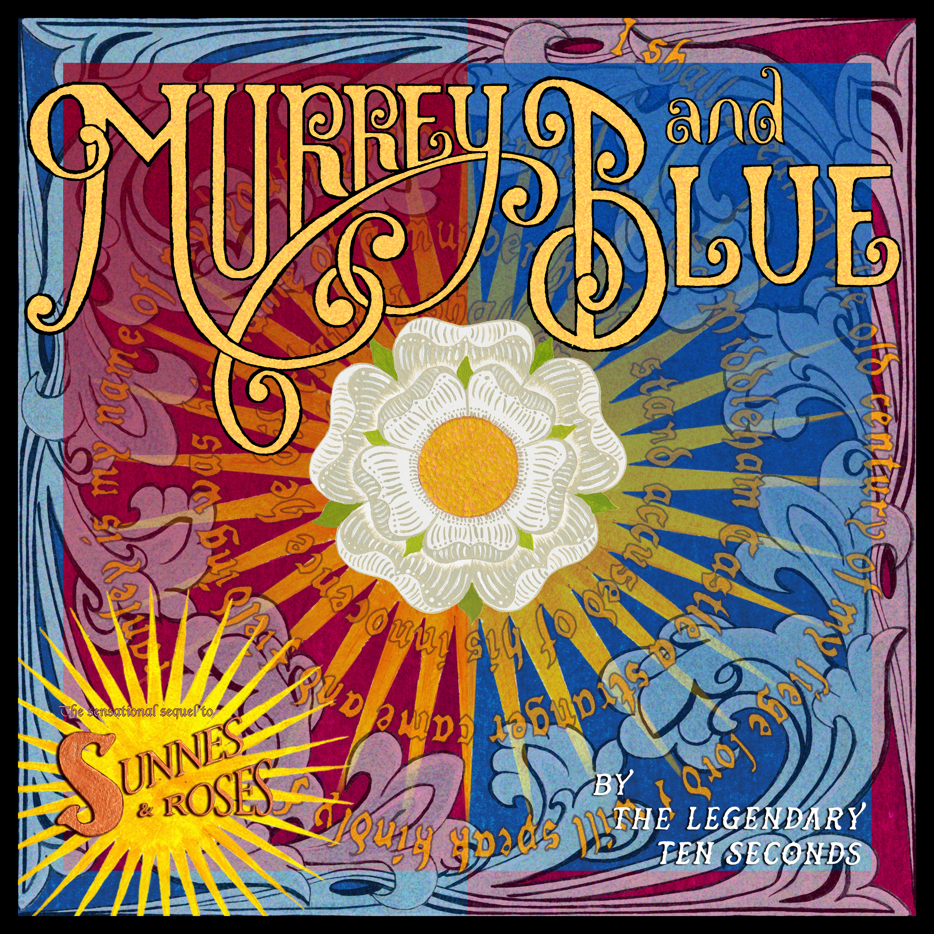 Murrey and Blue