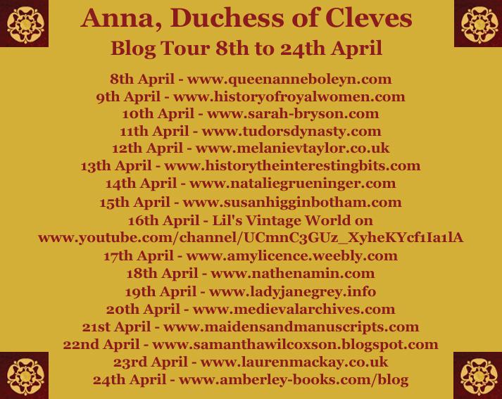 Anna Blog Tour Blog stops
